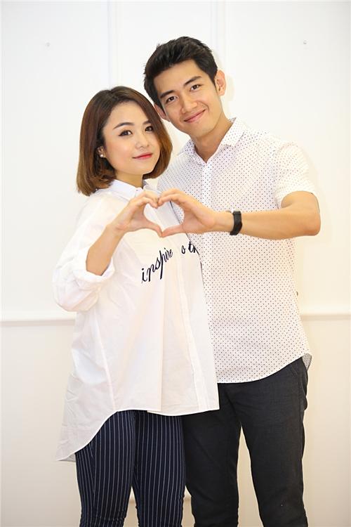 Thái Trinh và Quang Đăng.