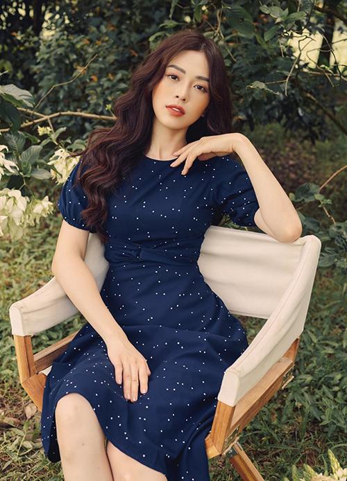 Phương Nga đánh dấu một năm lên ngôi Á hậu 1 tại Hoa hậu Việt Nam 2018.