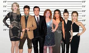 Sao Hollywood nào thấp hơn?