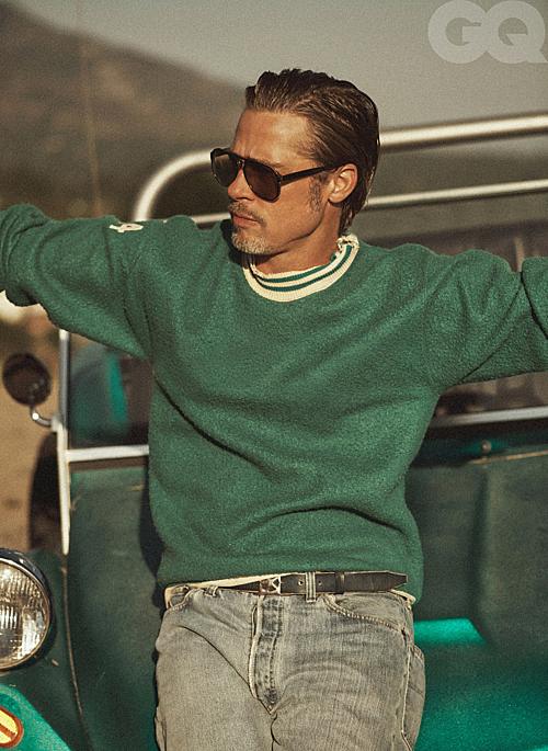 Bộ ảnh của Brad Pitt trên tạp chí GQ - 9