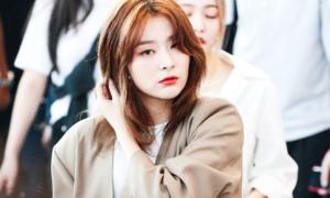 Style thu đông đơn giản mà bắt mắt của Seul Gi