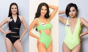 10 thí sinh nổi bật ở Sơ khảo Hoa hậu Hoàn vũ VN