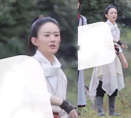 Khán giả nhận xét dung nhan nữ diễn viên có phần tiều tụy, xuống sắc, tạo hình và phục trang cũng không đẹp bằng thời đóng Sở Kiều truyện.