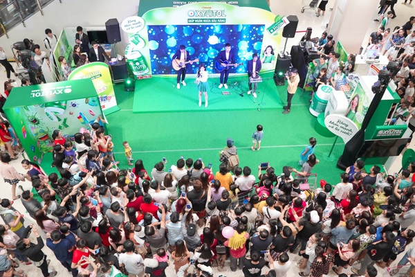 Các hoạt động tại sự kiện thu hút nhiều người quan tâm.