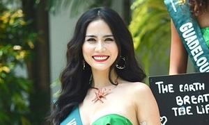 Hoàng Hạnh và dàn thí sinh Miss Earth diện bikini