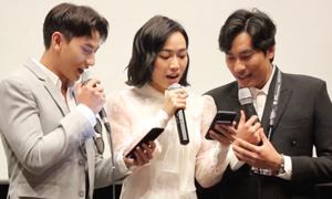 Isaac - Diệu Nhi hát tiếng Hàn tại LHP Busan