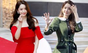 Yoona phủ sóng thảm đỏ với loạt đồ giá 'trên trời'