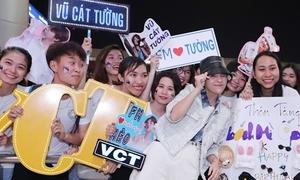 Fan tiễn Vũ Cát Tường sang Hàn Quốc dự Asia Song Festival 2019