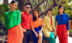 Dàn mỹ nhân nhiều thế hệ đọ sắc với váy áo sặc sỡ