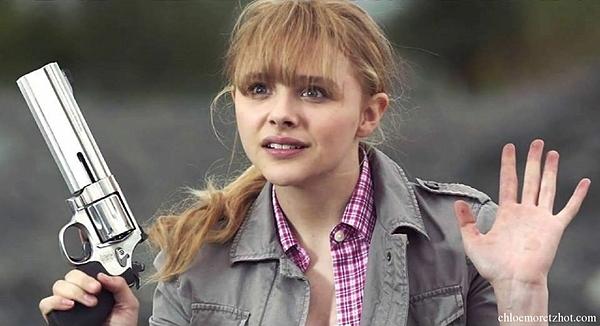 Chloe Grace Moretz trong Kick-ass - bộ phim khiến cả thế giới chú ý đến cô.