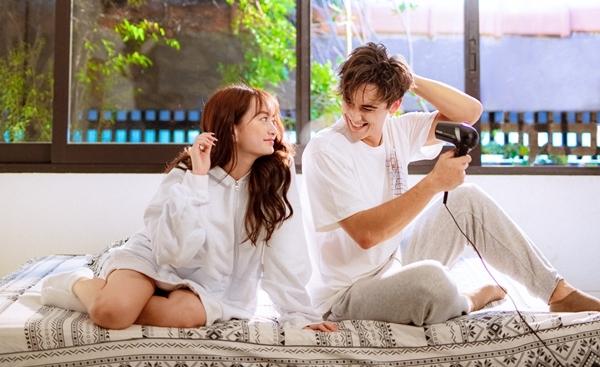 Kaity Nguyễn cùng trai đẹp trong MV đầu tay.