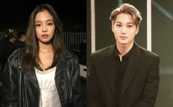 Jennie và Kai từng là một cặp đẹp đôi của Kpop nhưng chuyện tình của hai người không kéo dài lâu.
